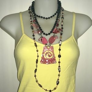 3 pcs Vintage Necklaces